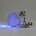 心形水晶内雕钥匙扣 4