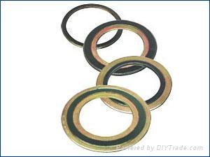 浙江溫州生產帶316L鋼內外環纏繞大規格密封墊片 1