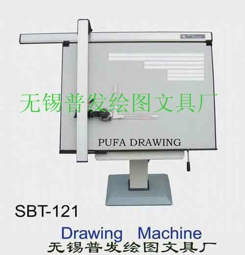 建筑工程制图设计专用导轨式绘图机 1