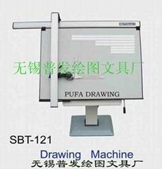建筑工程制图设计专用导轨式绘图机