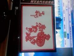 中国风汽车防滑垫