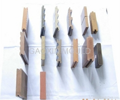 WPC Extrusion Mould for Solid Decking