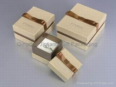 Custom printed paper gift box for jewelry jintian china for Custom jewelry packaging manufacturers