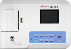 Three Channel ECG Machine with CE SE508