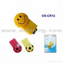 Football or Smile Face TF Card Reader
