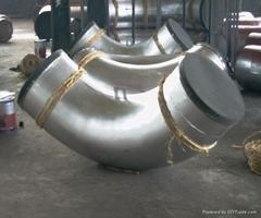不鏽鋼大口徑彎頭管件