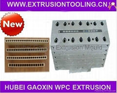 PVC WPC door panel mould dies tools