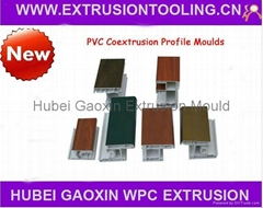PVC window profile extrusion mould dies tools