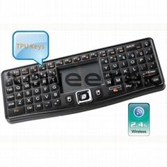 2.4G Ultra Mini Wireless Keyboard with Touchpad