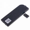 2.4G Ultra Mini Backlit Wireless Keyboard with Touchpad & White LED Light 2