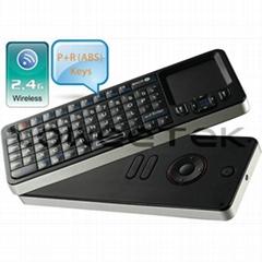 Mini Wireless Keyboard + Touchapd + IR Learning Remote Control 3 in 1