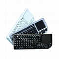 with Touchpad & Laser pointer Mini Bluetooth Keyboard  4