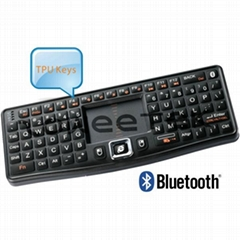 With DPI Adjustable Touchpad Mini Bluetooth Wireless Keyboard