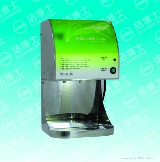 潔博士廠供304不鏽鋼自動噴霧酒精消毒機 1