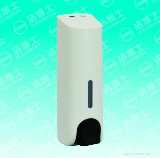 潔博士廠供應雙頭皂液器 2