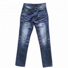 2011新款休閑春夏韓版直筒水洗牛仔褲