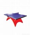 豪華型乒乓球台 1