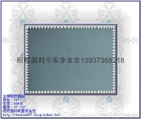 CN棉錦阻燃面料 4