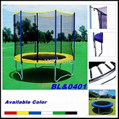 GS/TUV Standard High Quality Trampoline with Enclosure