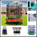 GS/TUV Standard High Quality Trampoline with Enclosure 2