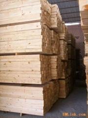 俄罗斯樟子松防腐木材