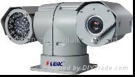 CCTV camera with lightning protection