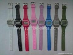 cheap wholesale colorful plastic digital watch