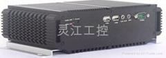 双网口双显D525工控机