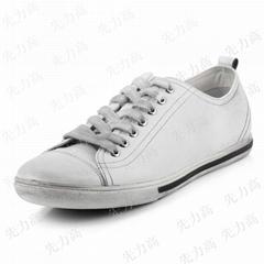 新款平底擦色復古歐美英倫特色潮男鞋子