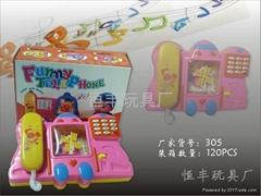 儿童玩具電話機