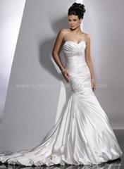2011 New Fashion Wedding dress LW0001+Cheap price&High Quality