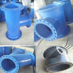 Ductile Cast Iron Flange Pipe Fittings