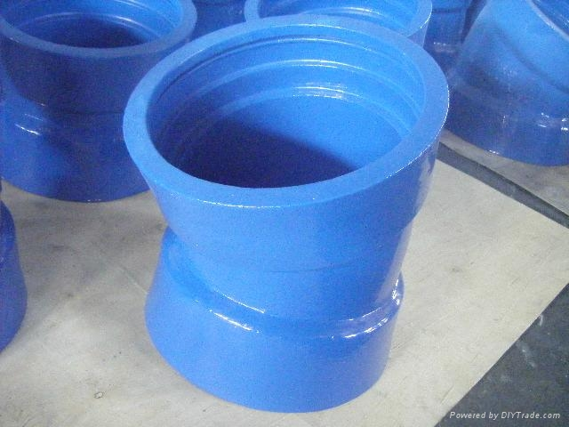 Ductile cast iron flange pipe fittings dn mm