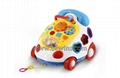 Educational toys musical phone car with blocks toys (Hot Product - 1*)
