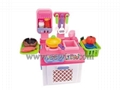Mini kitchenware set DIY toys
