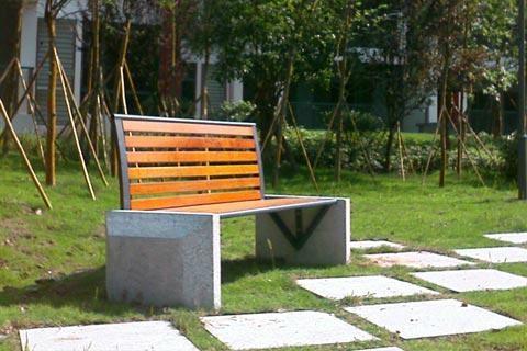公園椅子B618 1