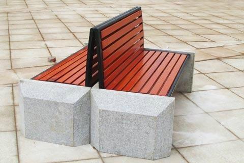 公園椅子B618 2