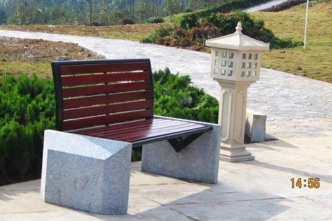 公園椅子B618 3