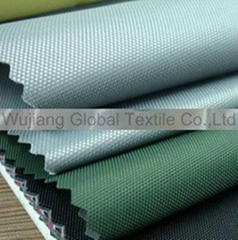 Oxford Fabric With PVC PU Gold  Si  er