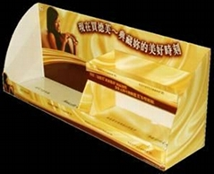 chocolate  counter display stand