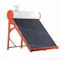 Economical Non Pressure Galvanized Solar Water Heaters Solar Geyser