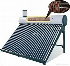 INTERGRATED COOPER-COIL PRESSURIZED Solar Water Heater System Solar Geyser