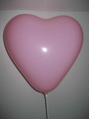 High quality heart shape  advertising balloon