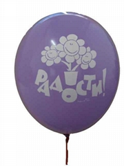 Hot selling 12 inch  advertising advertising balloon