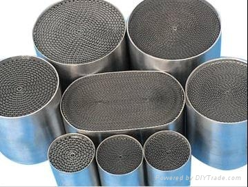 Metallic substrate catalytic converter - 0Cr21Al6 - Wisdom ...