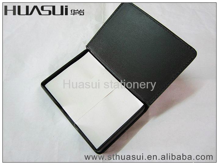 white paper squared memo cube 5