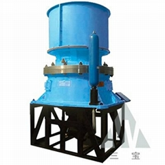Single hydraulic cone crusher