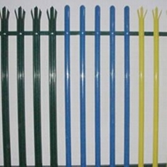 Plastic Coated Palisade Fence