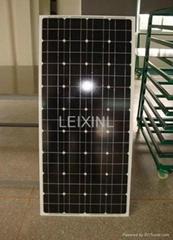 100W單晶太陽能電池板