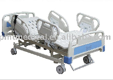 Electric Five-function Medical Care Bed/ ICU Bed